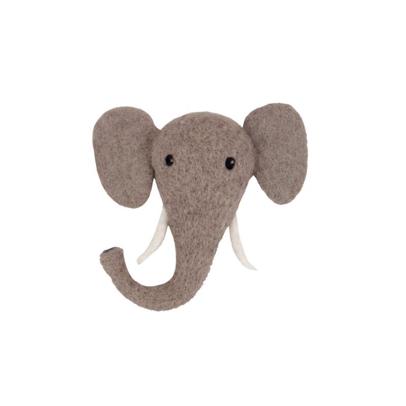 592202 Filtad Elephant dekoration