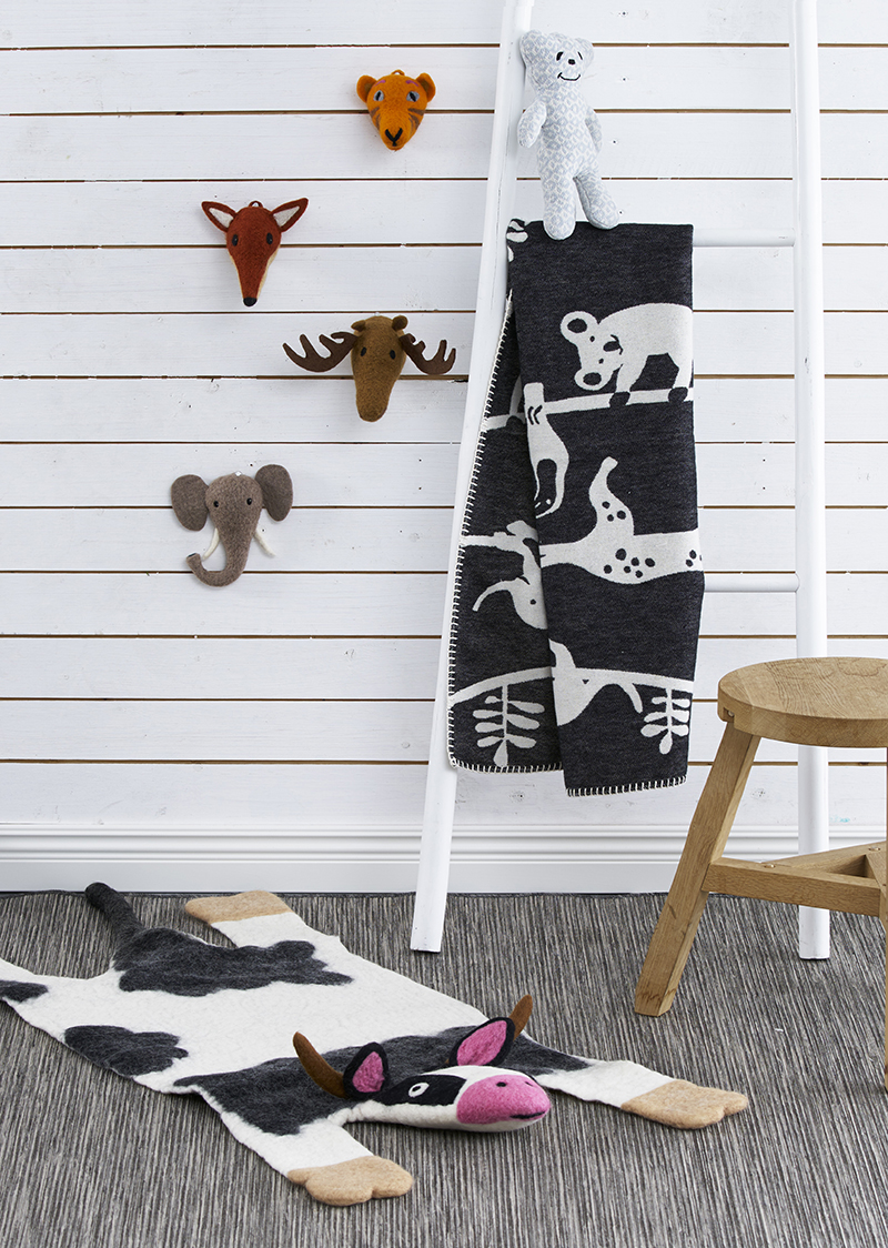 Kids room with animals