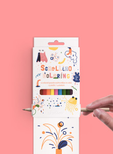 Scrollino-Coloring-Book-Design-Concept-Front_view-Hand_Full_Ticket